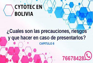 Riesgos del Cytotec en Bolivia